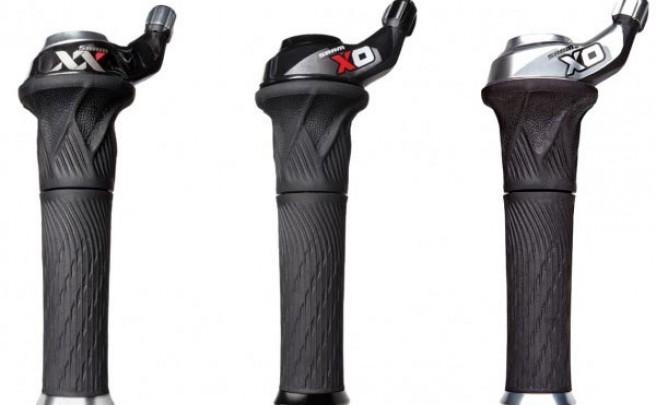 SRAM Grip Shift 10V de 2012. Todos los detalles, pesos y precios de los nuevos cambios giratorios de SRAM