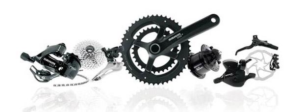 Nuevo grupo de transmisión SRAM Via GT de 2x10 velocidades para bicicletas urbanas