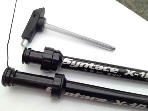 Nueva potencia y manillares con inclinación negativa de Syntace para 2013