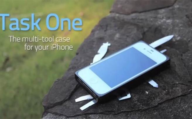 Task One, una práctica funda para nuestro iPhone con multi-herramienta incorporada
