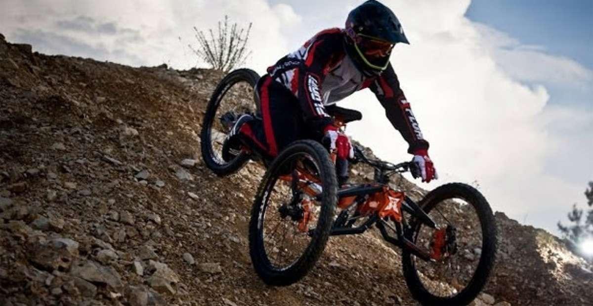 Video: Mountain Handbikers, increíbles ciclistas discapacitados rodando sin límites