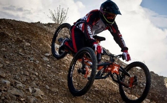 Video: Mountain Handbikers, increíbles ciclistas discapacitados rodando sin límites
