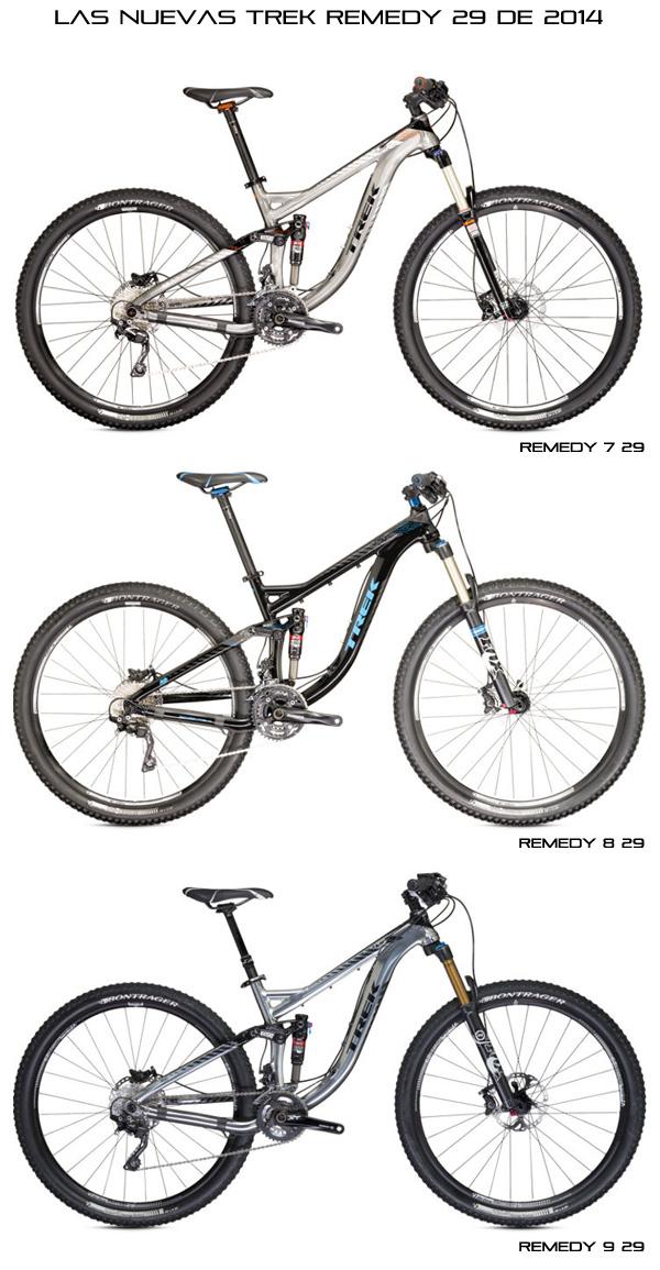 Nuevas Trek Fuel EX y Remedy con ruedas de 29 pulgadas... y alguna sorpresa más