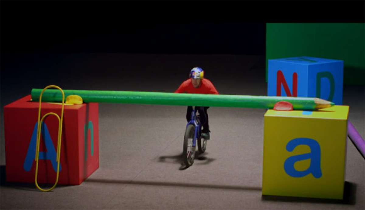 "Video: ""Imaginate – Riding"", un sorprendente viaje al interior de la mente de Danny MacAskill"
