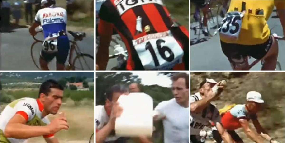 Video: Así se hidrataban y alimentaban los ciclistas del Tour en el año 1962