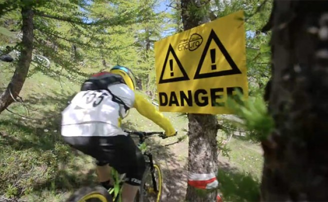 Video: EWS 2013. Ronda 2 en Val d´Allos (Enduro World Series, Francia)