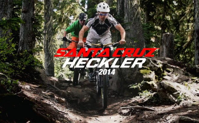 Video: La nueva Santa Cruz Heckler 27.5 de 2014 en acción