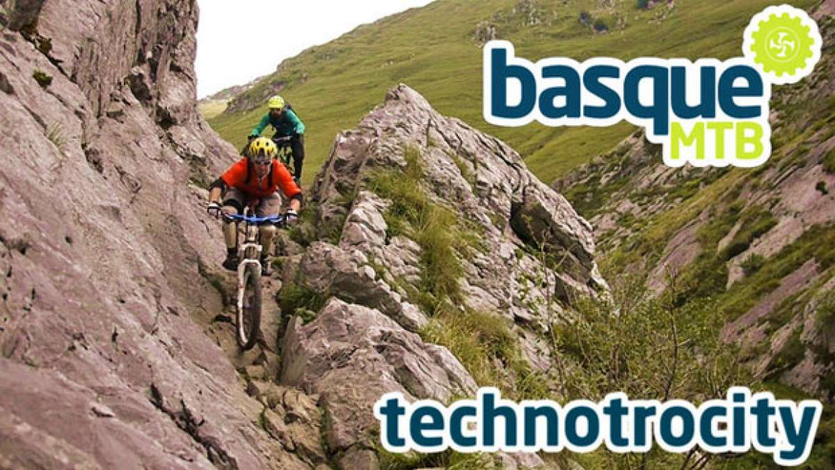 Video: 'Technotricity'. Practicando Mountain Bike en el País Vasco con BasqueMTB