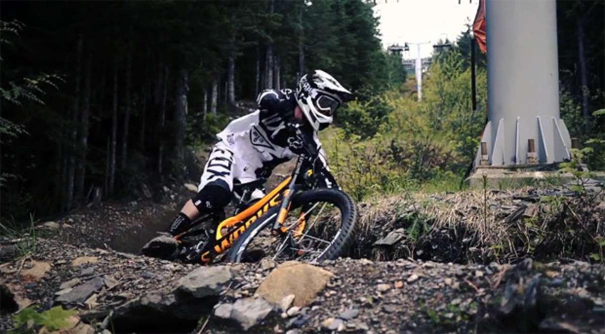 Video: 'Avid Chasing Trail'. Un día rodando con el corredor Kenny Smith