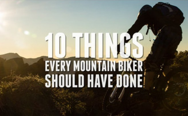 Video: 10 Cosas que todo ciclista de montaña debería haber hecho