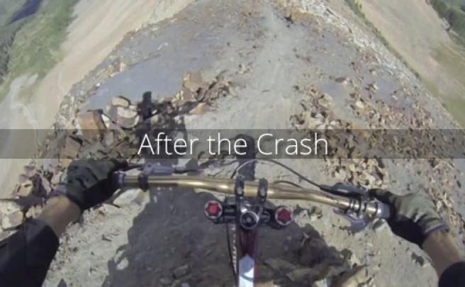 Video: Después de una caída... (con dedo dislocado incluido)