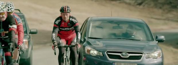 Video: Genial campaña publicitaria de la NPRA para concienciar a ciclistas y conductores