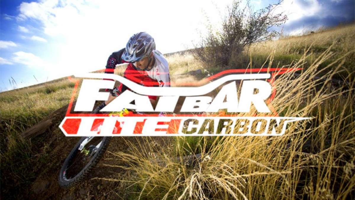Video: El nuevo manillar Renthal Fatbar Lite Carbon, mucho Enduro y alguna que otra explosión