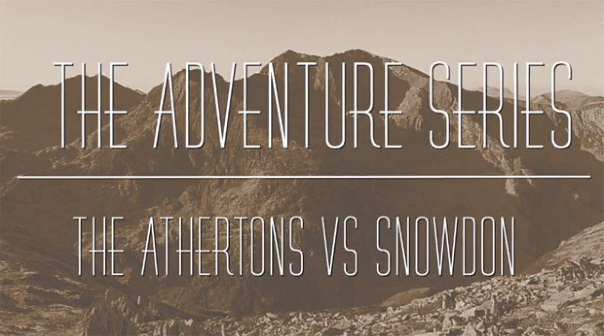 Video: Practicando Mountain Bike con Dan y Rachel Atherton en Snowdon (Reino Unido)