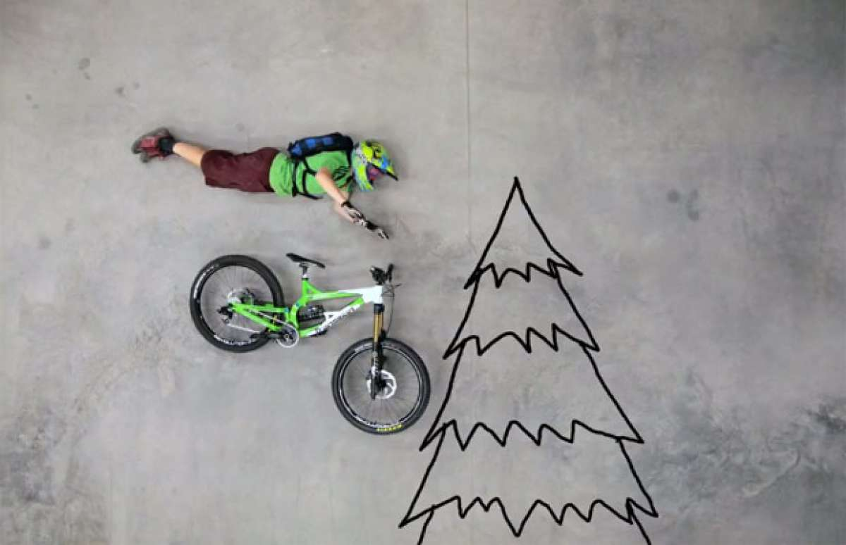 En TodoMountainBike: 'An Unlikely Ride', un entretenido vídeo en Stop Motion de Binary Bike