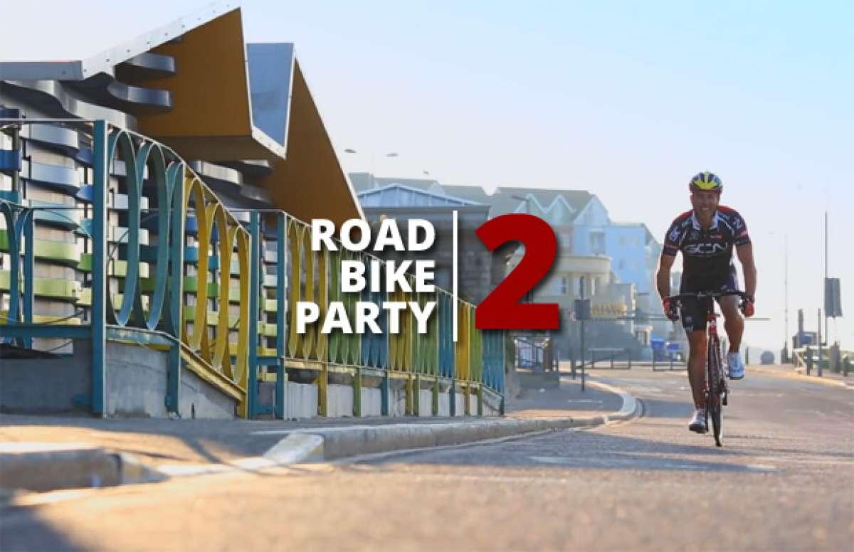 Video: Road Bike Party 2, las peripecias de Martyn Ashton, Danny MacAskill y Chris Akrigg sobre una Colnago C59