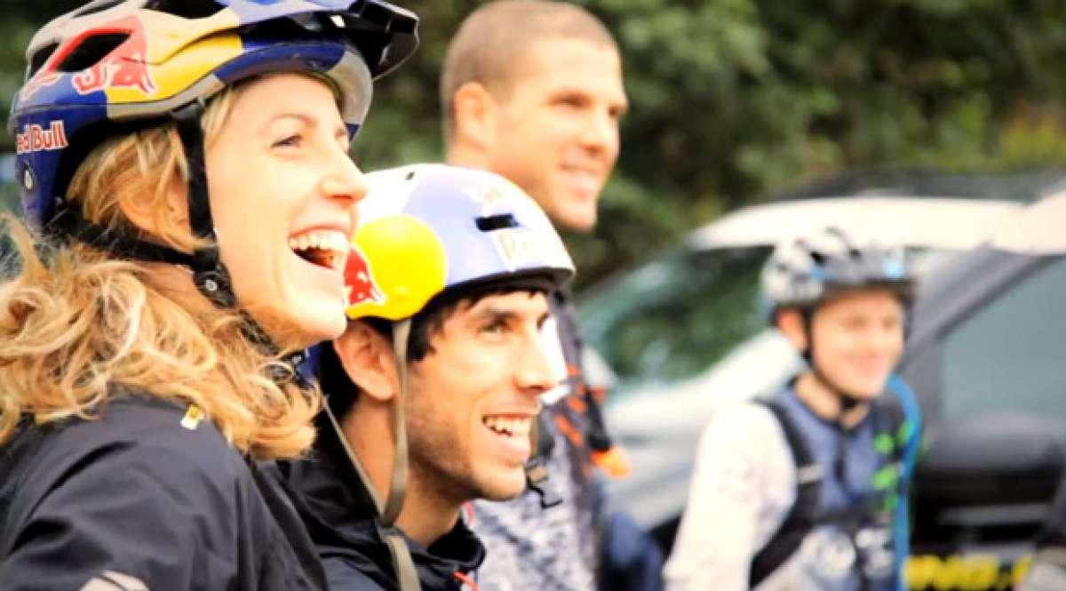 Video: Un día rodando con los hermanos Atherton (Mercedes-Benz Vito Sport)