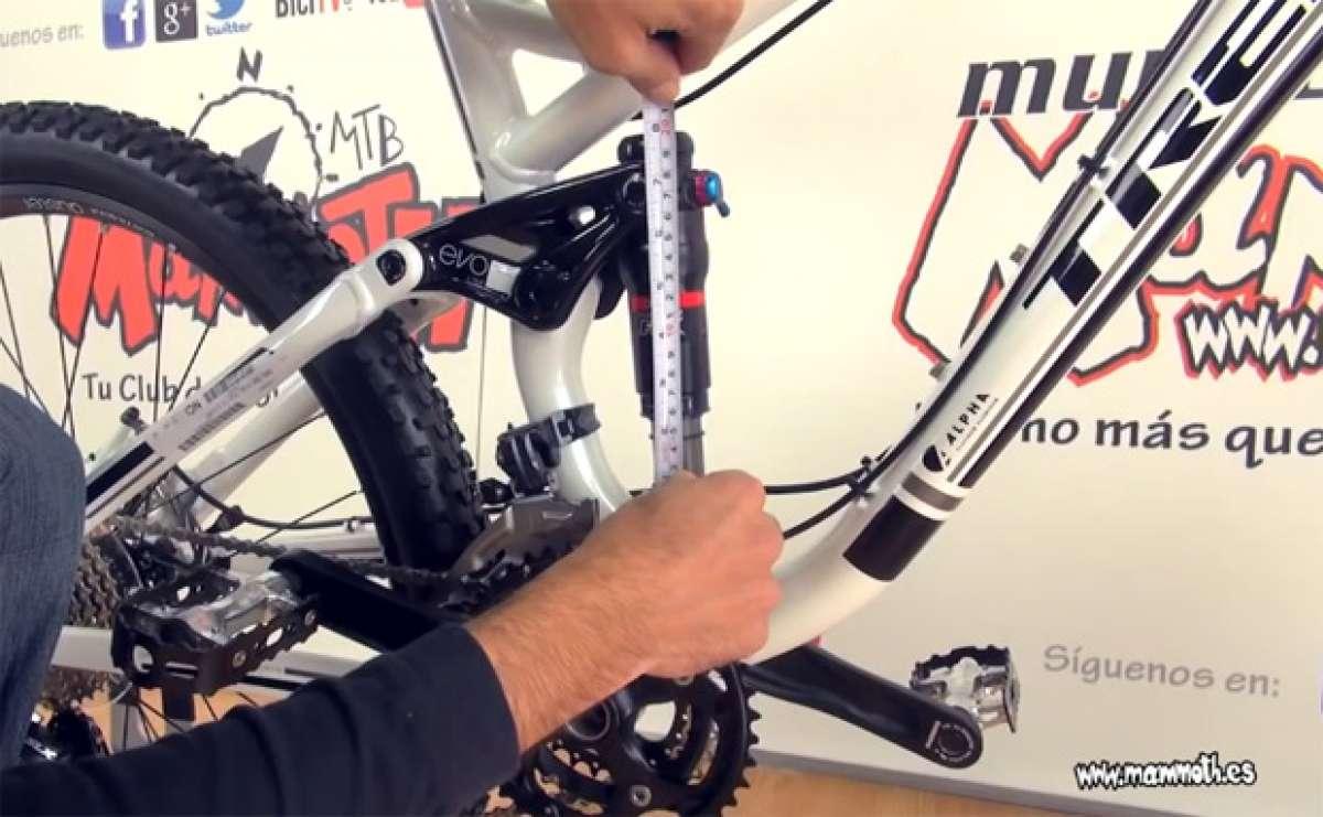 Video: Cómo ajustar correctamente el SAG de una horquilla o amortiguador de bicicleta