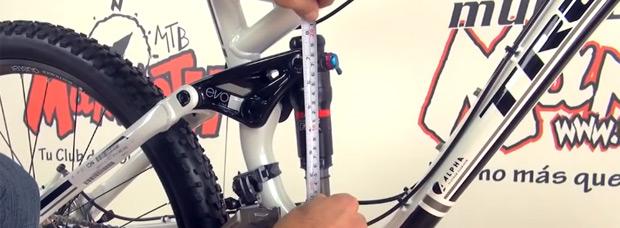 Cómo ajustar correctamente el SAG de una horquilla o amortiguador de bicicleta