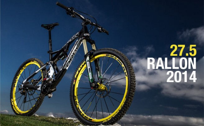 Video: La nueva Orbea Rallon 27.5 de 2014 en acción