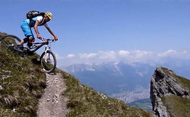 Video: Rodando rutas técnicas por las montañas de El Tirol (Alpes, Europa)