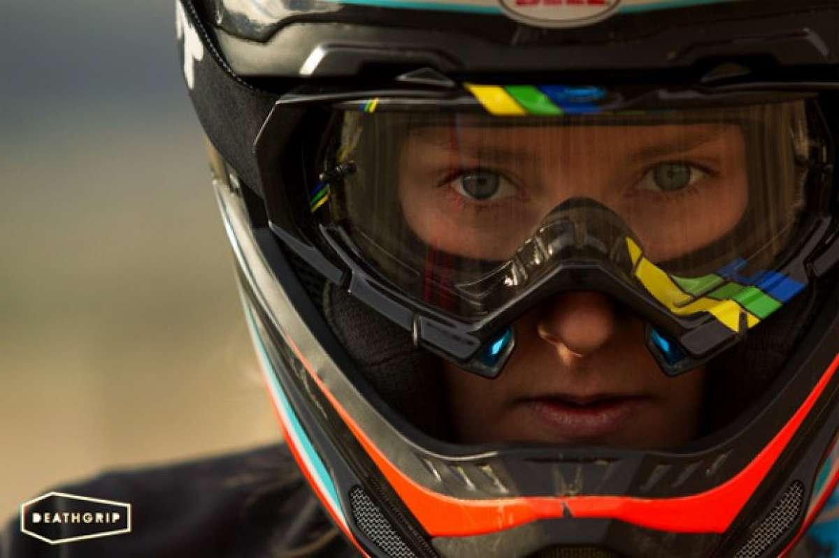 Video: Rodando con Casey Brown a 96 kilómetros por hora... y sin frenos