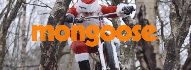 Video: El acrobático anuncio promocional navideño de Mongoose