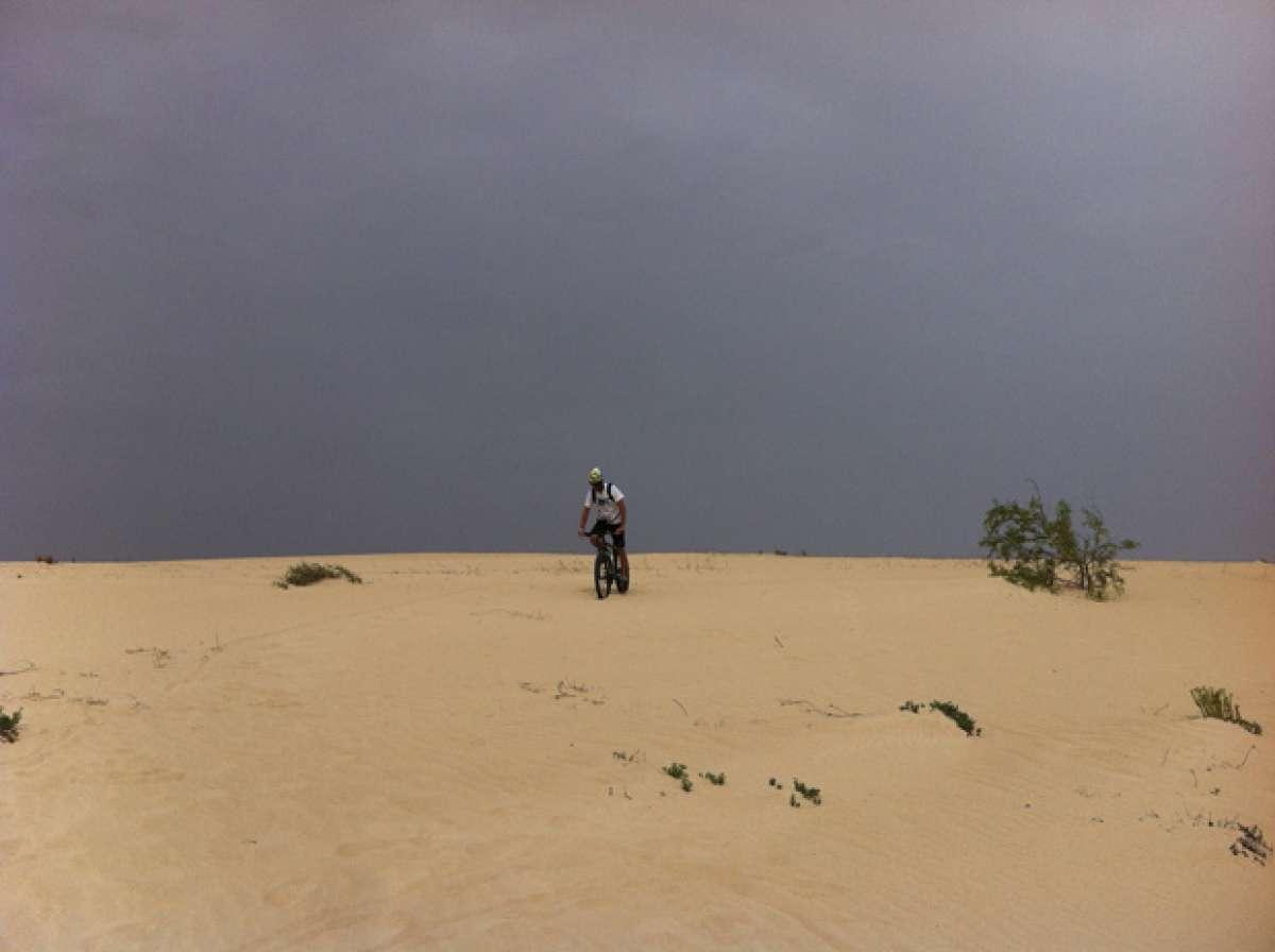 """La foto del día en TodoMountainBike: """"Las dunas de Corralejo (Fuerteventura)"""""""