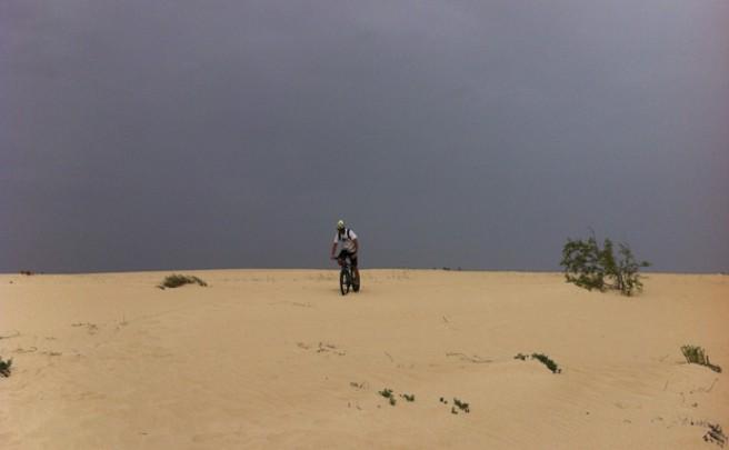 La foto del día en TodoMountainBike: 'Las dunas de Corralejo (Fuerteventura)'