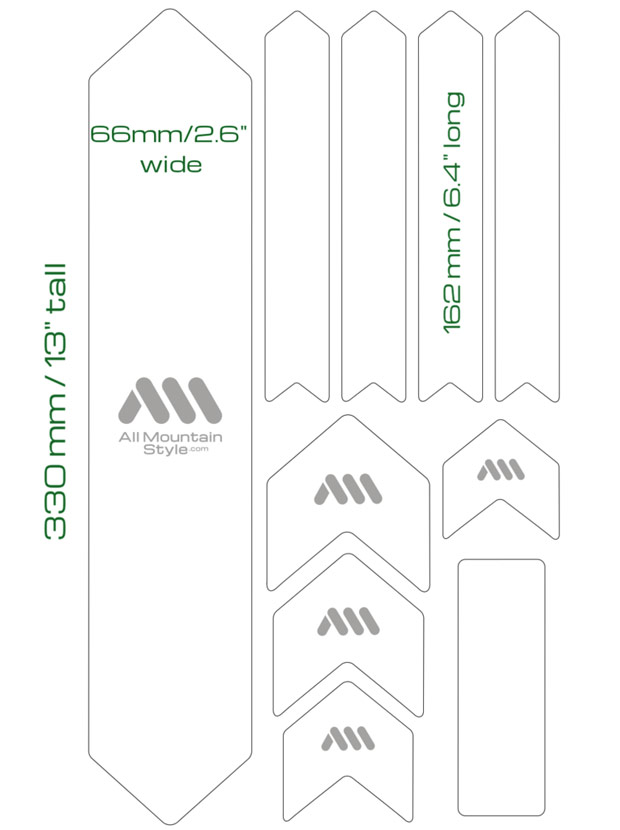 AMS Honeycomb XL: Nuevo protector adhesivo para cuadros de bicicleta en talla extra grande