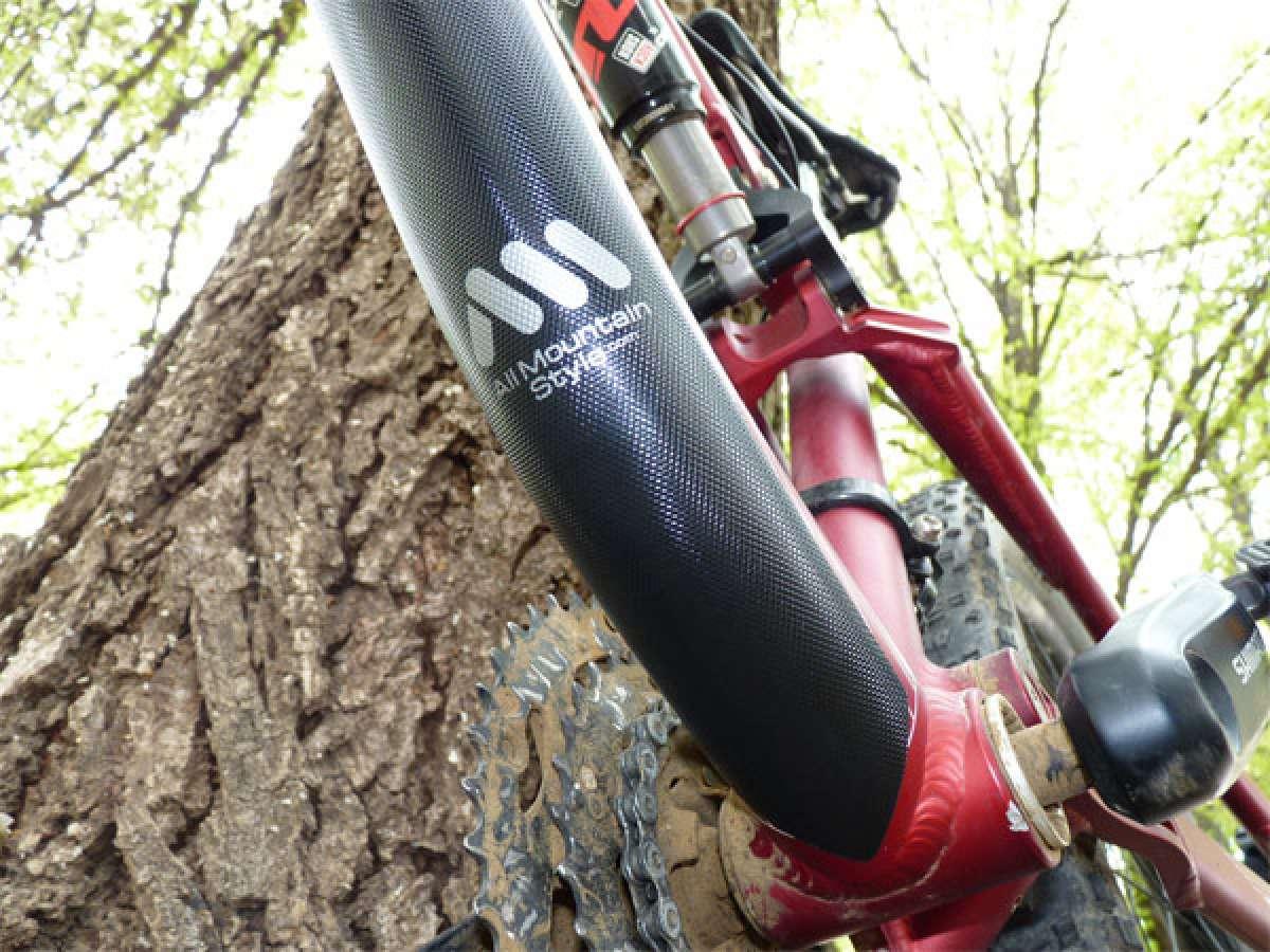 AMS Honeycomb: Un protector adhesivo de alta calidad para cuadros de bicicleta