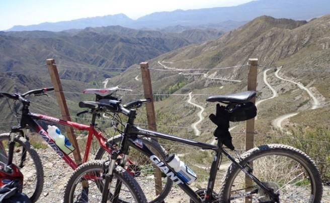 La foto de la semana en TodoMountainBike: 'El ascenso de Villavicencio (Mendoza, Argentina)'