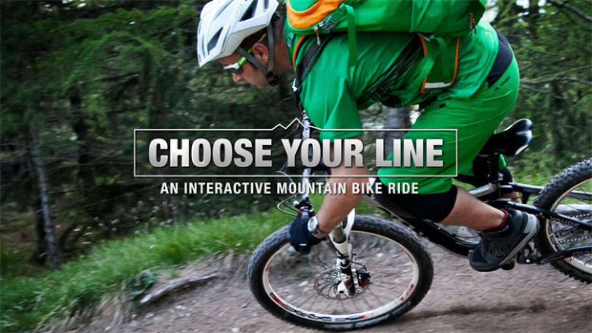 Video: 'Choose your Line', un video interactivo para rodar (virtualmente) por donde elijamos