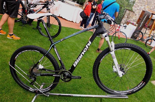 Las bicicletas de Bianchi para la temporada 2014: Primer contacto