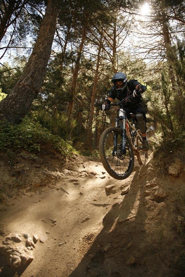 """La foto de la semana en TodoMountainBike: """"Verano en el BikePark La Pinilla (Segovia, España)"""""""