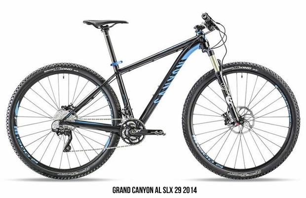 Grand Canyon AL, AL SLX y CF SL 29 de Canyon para 2014: Primer contacto