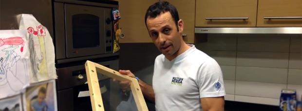 ¿Cómo fabricar una carcasa para el casco? José Antonio Hermida nos lo explica