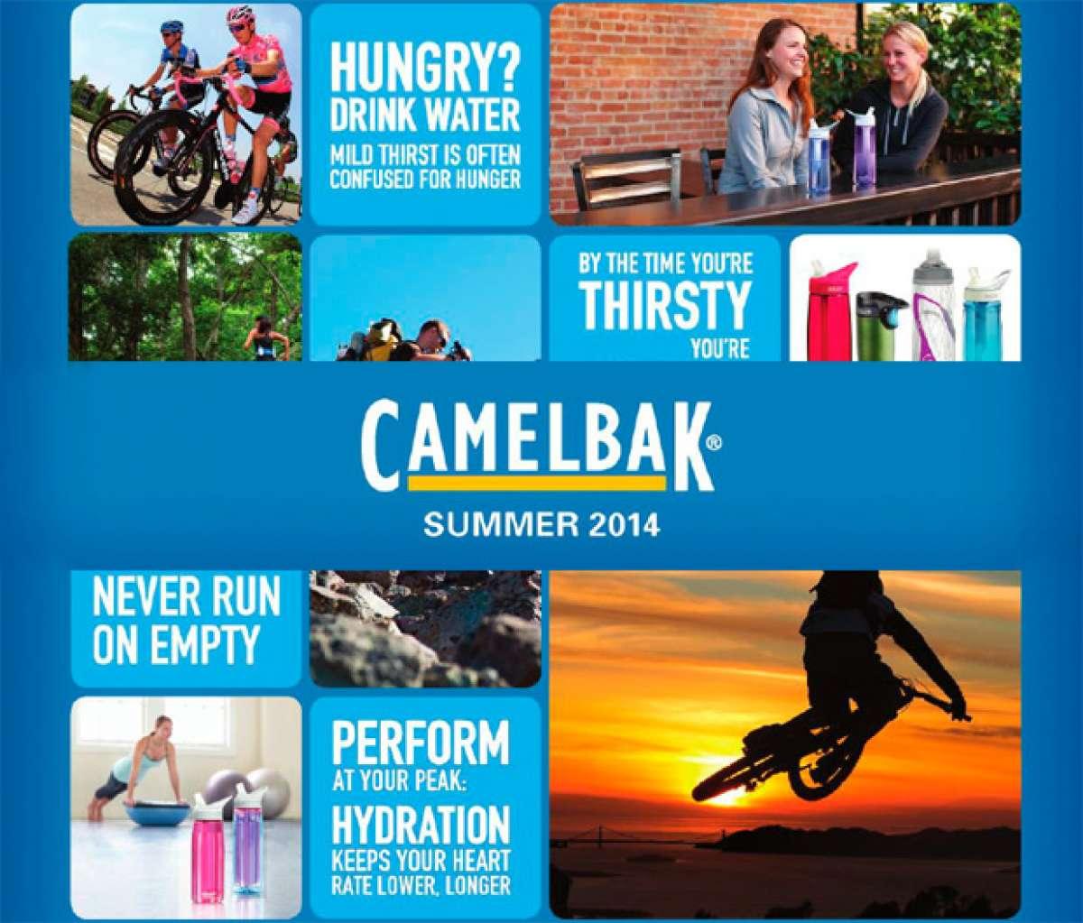 Catálogo de Camelbak 2014. Toda la gama de productos Camelbak para la temporada 2014