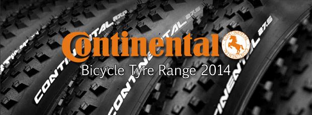 Catálogo de Continental 2014. Toda la gama de cubiertas Continental para la temporada 2014