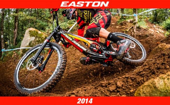 Catálogo de Easton 2014. Toda la gama de componentes Easton para la temporada 2014