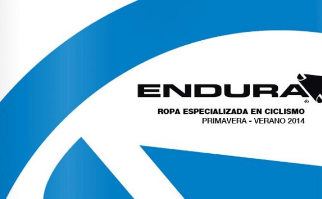 Catálogo de Endura 2014. Todo el equipamiento de Endura para la temporada 2014