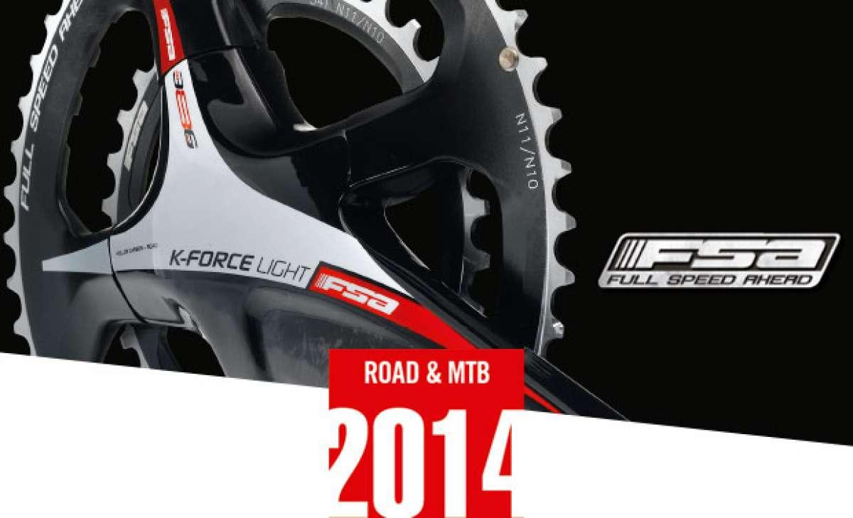 Catálogo de FSA 2014. Toda la gama de componentes FSA para la temporada 2014