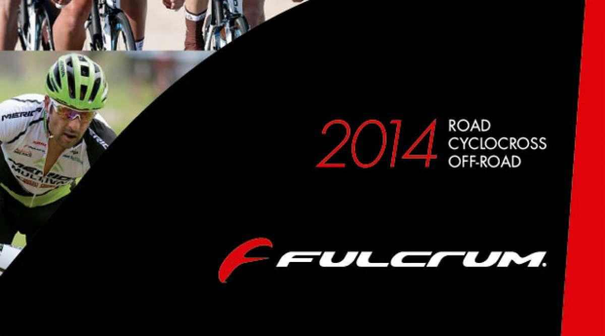 Catálogo de Fulcrum 2014. Toda la gama de ruedas Fulcrum para la temporada 2014