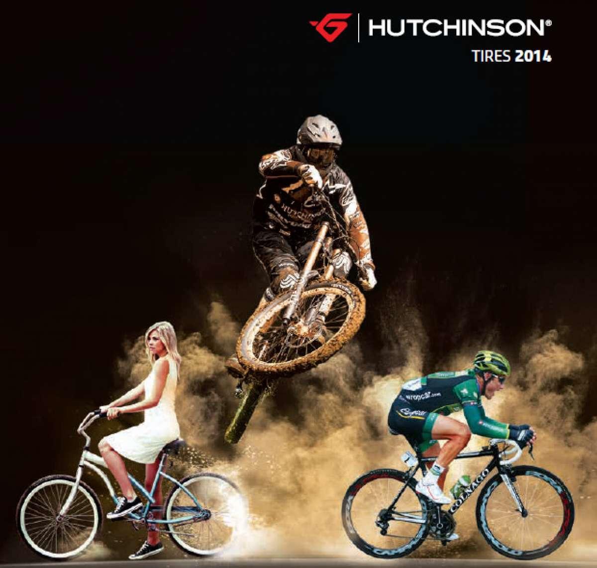 Catálogo de Hutchinson 2014. Toda la gama de cubiertas Hutchinson para la temporada 2014