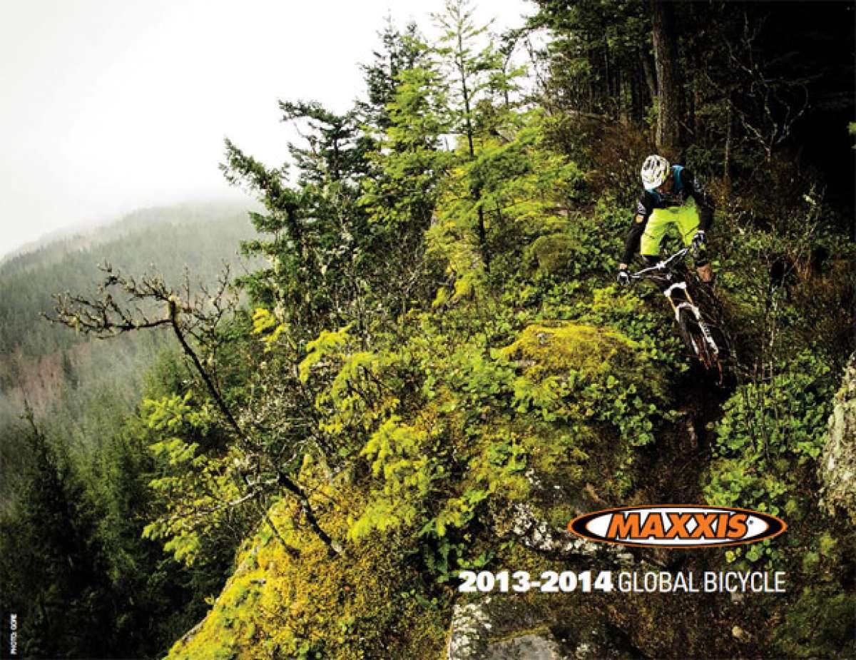 Catálogo de Maxxis 2014. Toda la gama de cubiertas Maxxis para la temporada 2014
