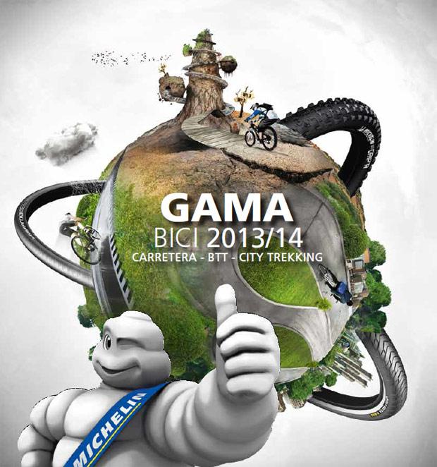 Catálogo de Michelin 2014. Toda la gama de cubiertas Michelin para la temporada 2014