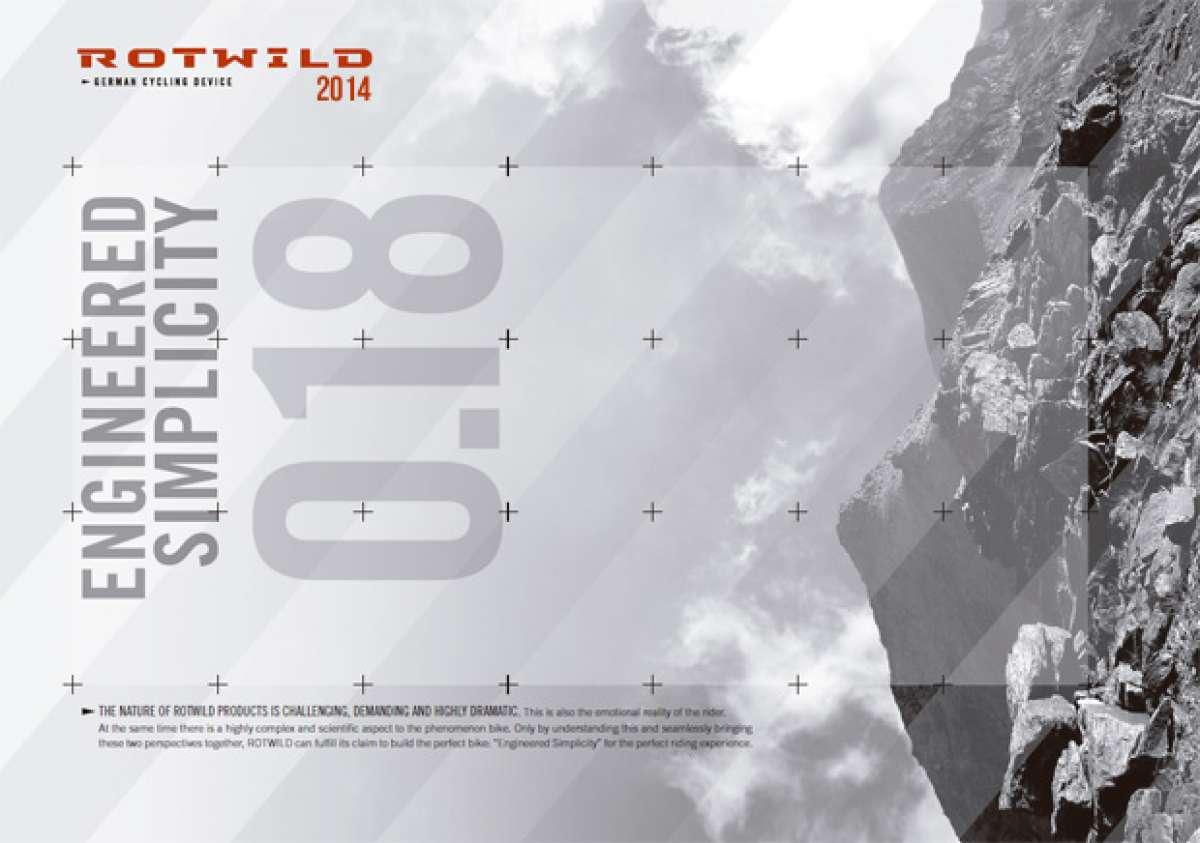 Catálogo de Rotwild 2014. Toda la gama de bicicletas Rotwild para la temporada 2014