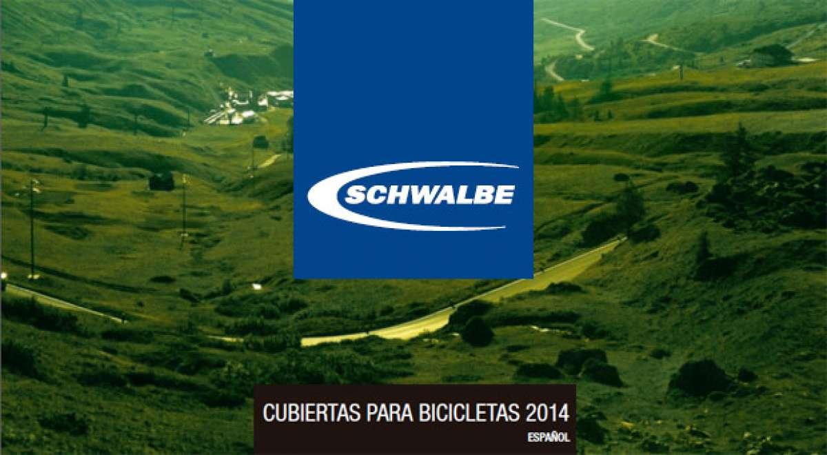 En TodoMountainBike: Catálogo de Schwalbe 2014. Toda la gama de cubiertas Schwalbe para la temporada 2014