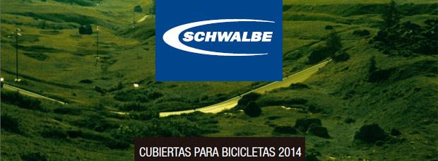 Catálogo de Schwalbe 2014. Toda la gama de cubiertas Schwalbe para la temporada 2014