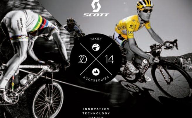 Catálogo de Scott 2014. Toda la gama de bicicletas Scott para 2014